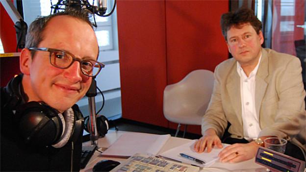 Reiner Eichenberger (r) und Hannes Hug