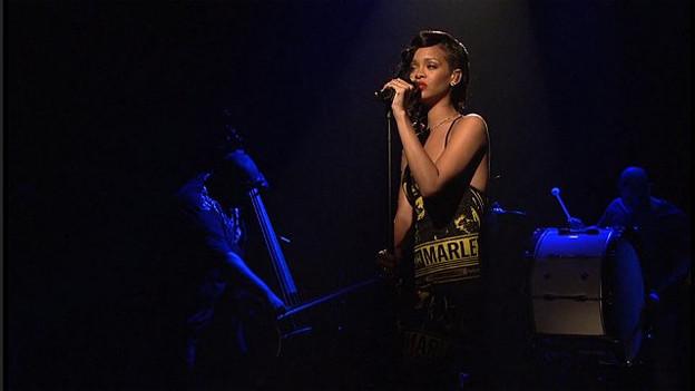 Nicht mehr zu stoppen: Rihanna auf Platz 1 der Schweizer Singlecharts.