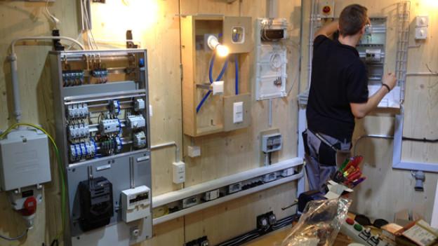 Die Elektroberufe zeigen an der Berufsmesse St. Gallen was sie zu bieten haben.