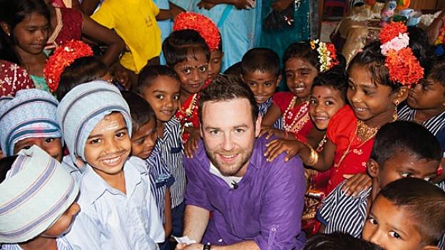 Nik Hartmann informierte sich vor der Spendenwoche über den Ernst der Situation in Sri Lanka.