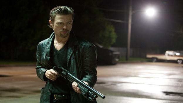 Frauenschwarm Brad Pitt mimt in «Killing them softly» den kaltblütigen Mafioso.