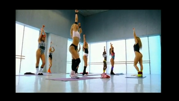 Sexy Aerobic im Video von Eric Prydz «Call on me»