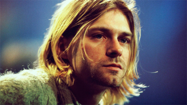 Grunge-Ikone Kurt Cobain hatte den Schmuddel-Look perfekt drauf.