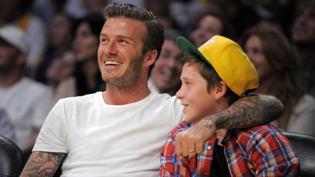 Nach glorreichen Fussball-Jahren bei Manchester United und Real Madrid, macht David Beckham inzwischen mehrheitlich als Stil-Ikone Schlagzeilen.