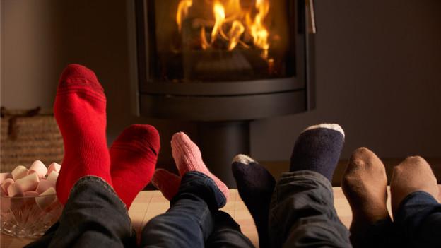 Stilfrage im Winter: Reichen Socken an den Füssen?
