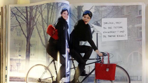 Was will uns diese Werbung von Longchamp bloss vermitteln?