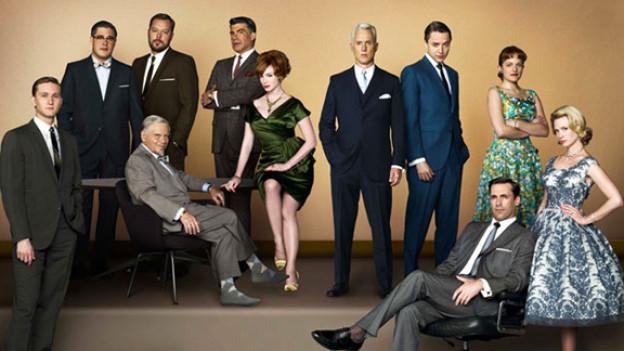 Stilsicher: Die Schauspieler der US-Erfolgsserie Mad Man.