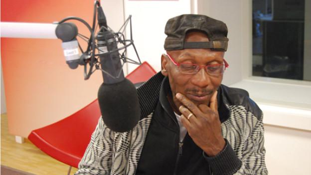 Reggae-Urgestein Jimmy Cliff zu Besuch im DRS 3 Studio.
