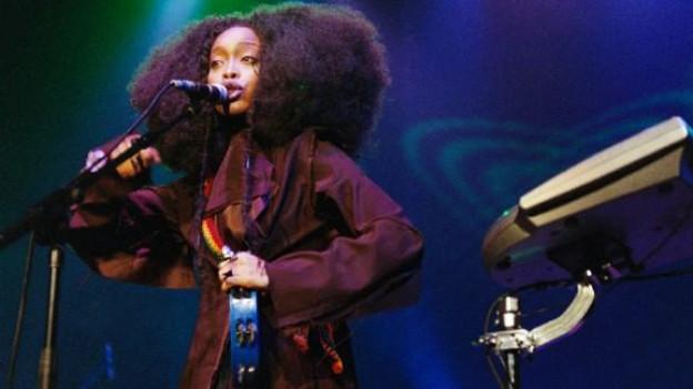 Die US-R&B-Sängerin Erykah Badu