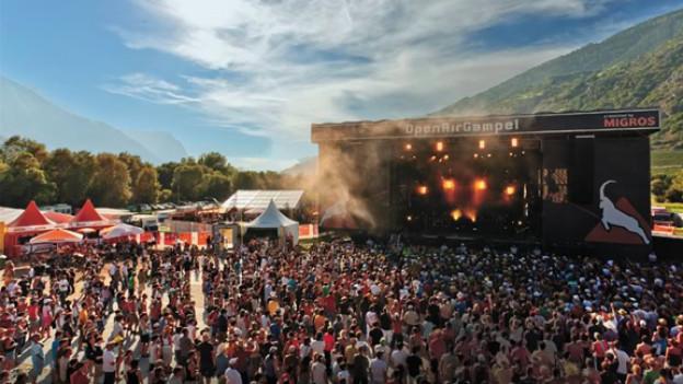 Das Open Air Gampel findet vom 16. - 19. August statt