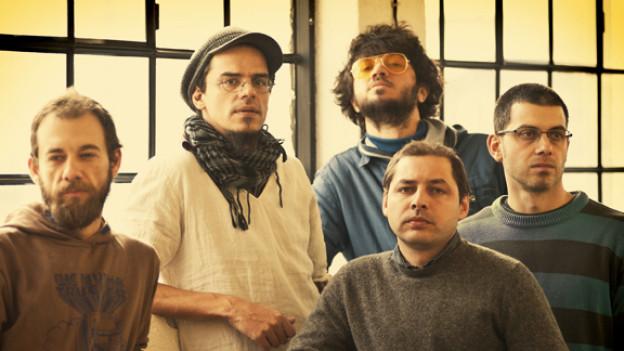 Eine der gefragtesten Live-Bands Bulgariens: Kottarashky & The Rain Dogs.