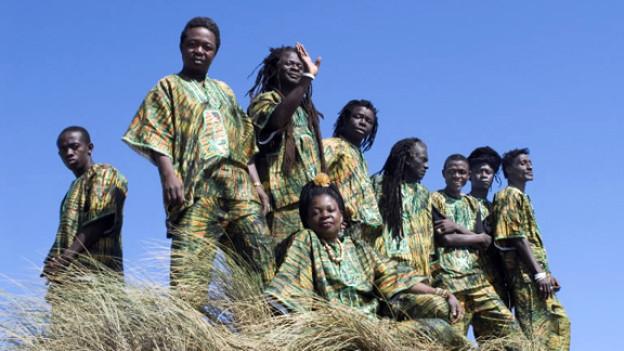 Sie verdanken ihre Band dem Bürgerkrieg: die Sierra Leone's Refugee All Stars.