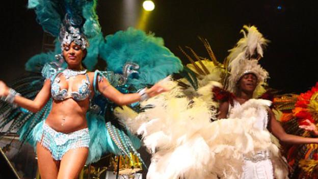 Wer am Caliente-Festival in Zürich nicht tanzen will, kann gaffen.