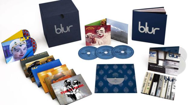Die Geburtstags-CD-Box von Blur - zu gewinnen bei Sounds!