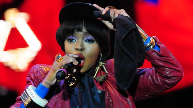 Die Ex-Frontfrau der Fugees begeistert auch solo: Miss Lauryn Hill.