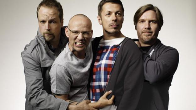 Die Fantastischen Vier anno 2012.