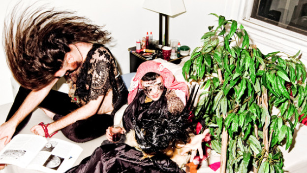 Ambient mit Punk-Attitude: Grimes aka Claire Boucher aus Montreal.