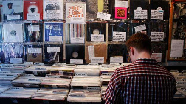 Im legendären Londoner Shop Rough Trade herrscht für Vinyl-Fans die Qual der Wahl.