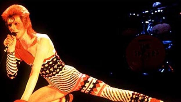 Er ist Ziggy: David Bowie.