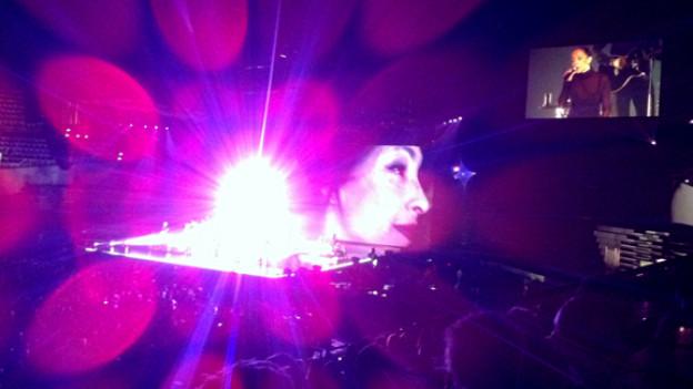Sade bei ihrem Konzert vom Mai 2011 in Zürich.