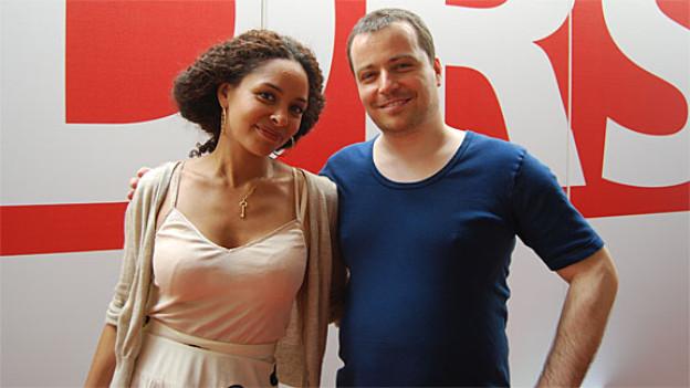 Joy Denalane mit Sascha Rossier