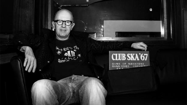 Moderator und legendärer Reggae-DJ David Rodigan.