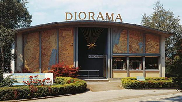 Die grösste Krippe der Welt  steht im Diorama Bethlehem in Einsiedeln