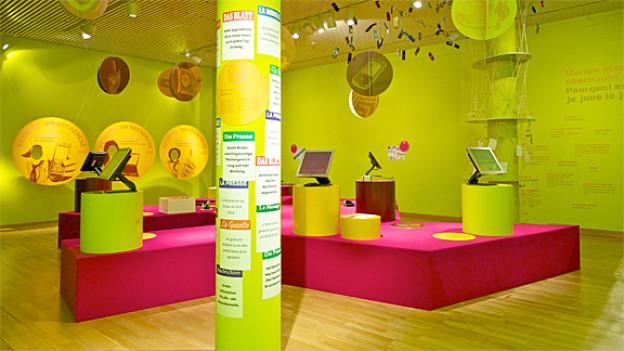 Interaktive Stationen zeigen praxisnah, wie Kommunikation Spass statt Stress machen kann.