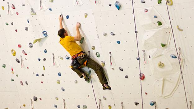 Indoor-Klettern lässt sich das ganze Jahr über.