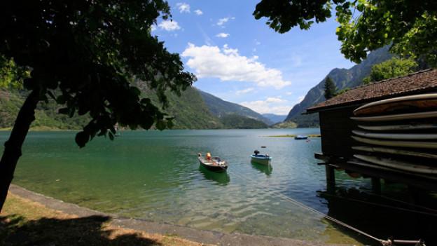 Traumhaft schön: Der Lago Poschiavo.