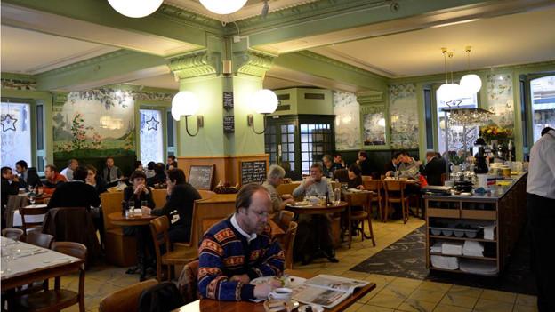 Die Brasserie Le Cardinal in Neuchâtel ist der Gipfel der gastronomischen Forschungsreise.