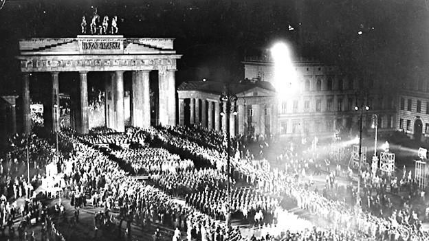 «Machtergreifung», Berlin am 30.1.1933.
