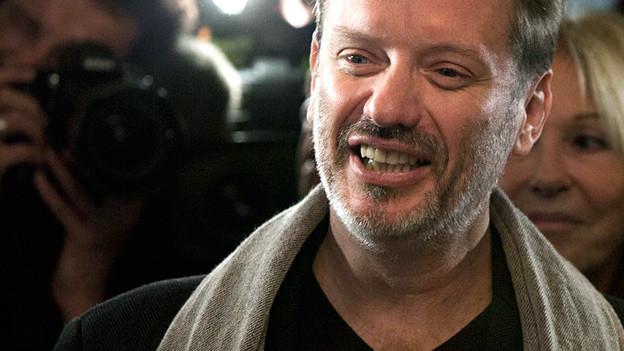 Autor Alexis Jenni, als der 2011 den Prix Goncourt gewann.