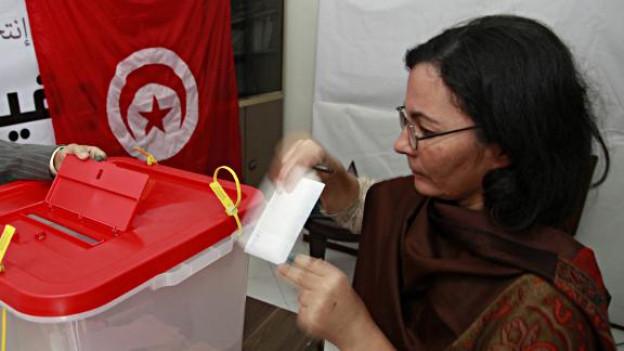 Oktober 2011: In Tunesien finden Wahlen statt für eine verfassungsgebende Versammlung.