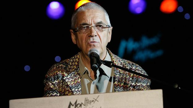 Fast ein halbes Jahrhundert hatte Claude Nobs die Leitung des Montreux Jazz Festivals inne.
