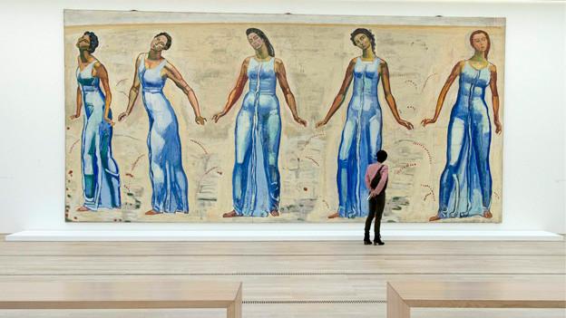 Ferdinand Hodlers Werke sind noch bis zum 26. Mai 2013 in der Fondation Beyeler zu sehen.