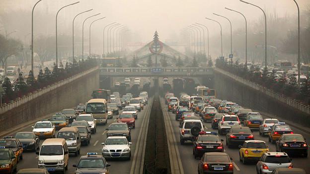 Dicke Luft: Peking hat ein Smog-Problem.
