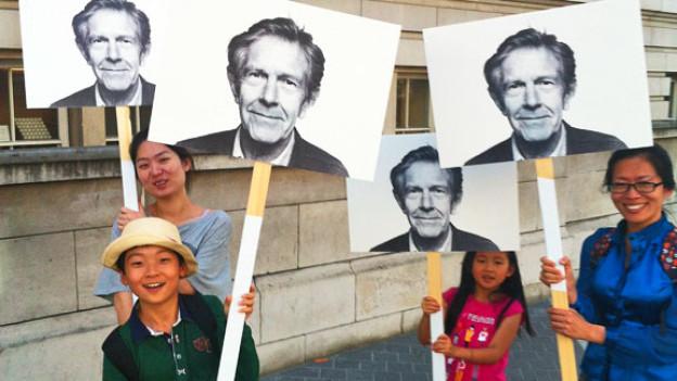Der «John Cage Walk» an den BBC Proms, London 17.August 2012.<a href=http://www.flickr.com/photos/bowbrick/7807810638/=_blank>Steve Bowbrick</a>