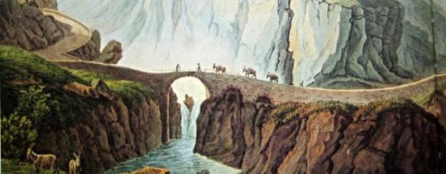 Die Teufelsbrücke am Gotthard.