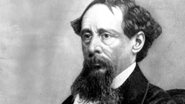 Ein undatiertes Foto des Schriftstellers Charles Dickens.