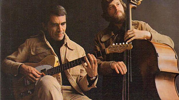 Ed Bickert und der Bassist Don Thompson auf dem Cover ihres Duo-Albums.