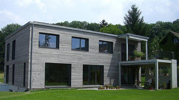 Plusenergiehaus in Riehen, BS.