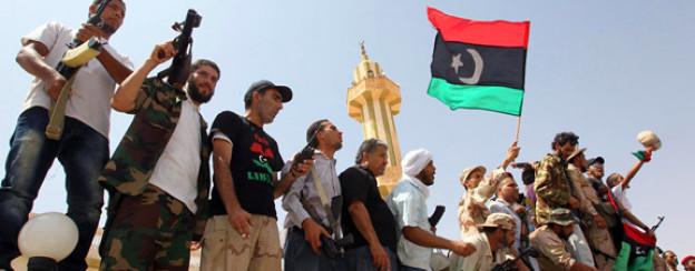 Lang ersehnter Erfolg: Libysche Rebellen feiern Anfang September.
