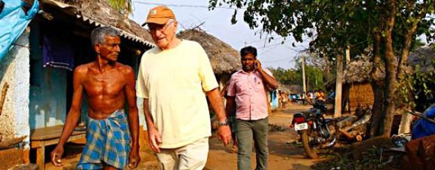 Paul Polak unterwegs in Indien.