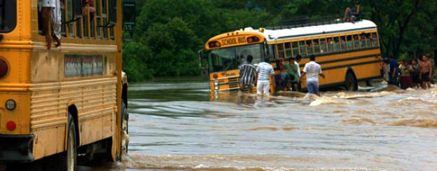 Nicaragua leidet unter Überschwemmungen als Folge des Klimawandels.