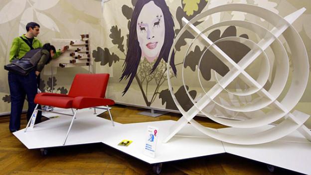 Tummelfeld der Kreativen: Die Schweizer Designmesse Blickfang.