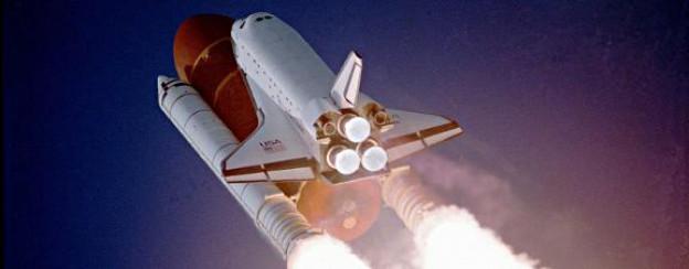 Die Raumfähre Atlantis beschliesst die Ära der Space-Shuttles.