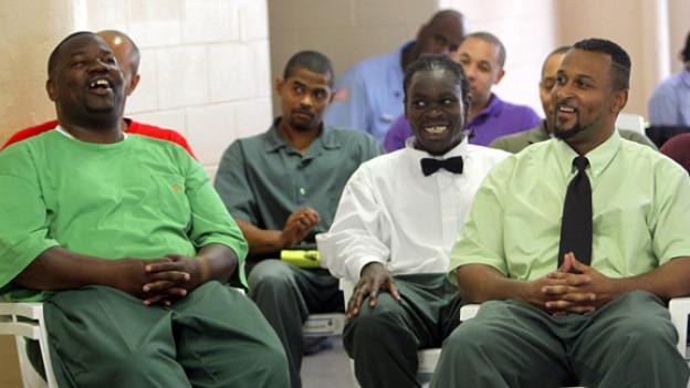 Abschlussfeier im New Yorker Gefängnis Sing Sing, Juni 2011.