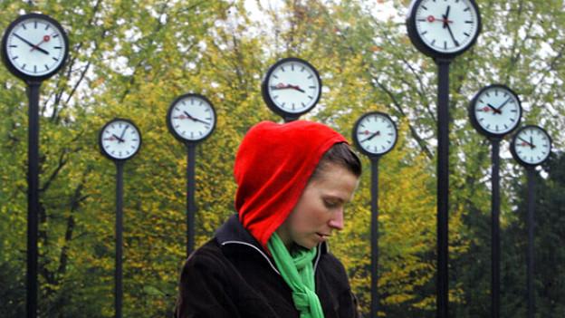 Zeitdruck: für viele Menschen kein unbekanntes Gefühl.