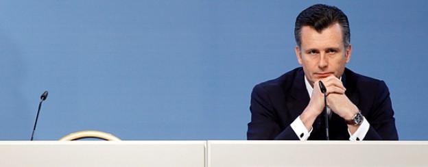 Nationalbankdirektor Philipp Hildebrand bei seiner Pressekonferenz am 5. Januar 2011.